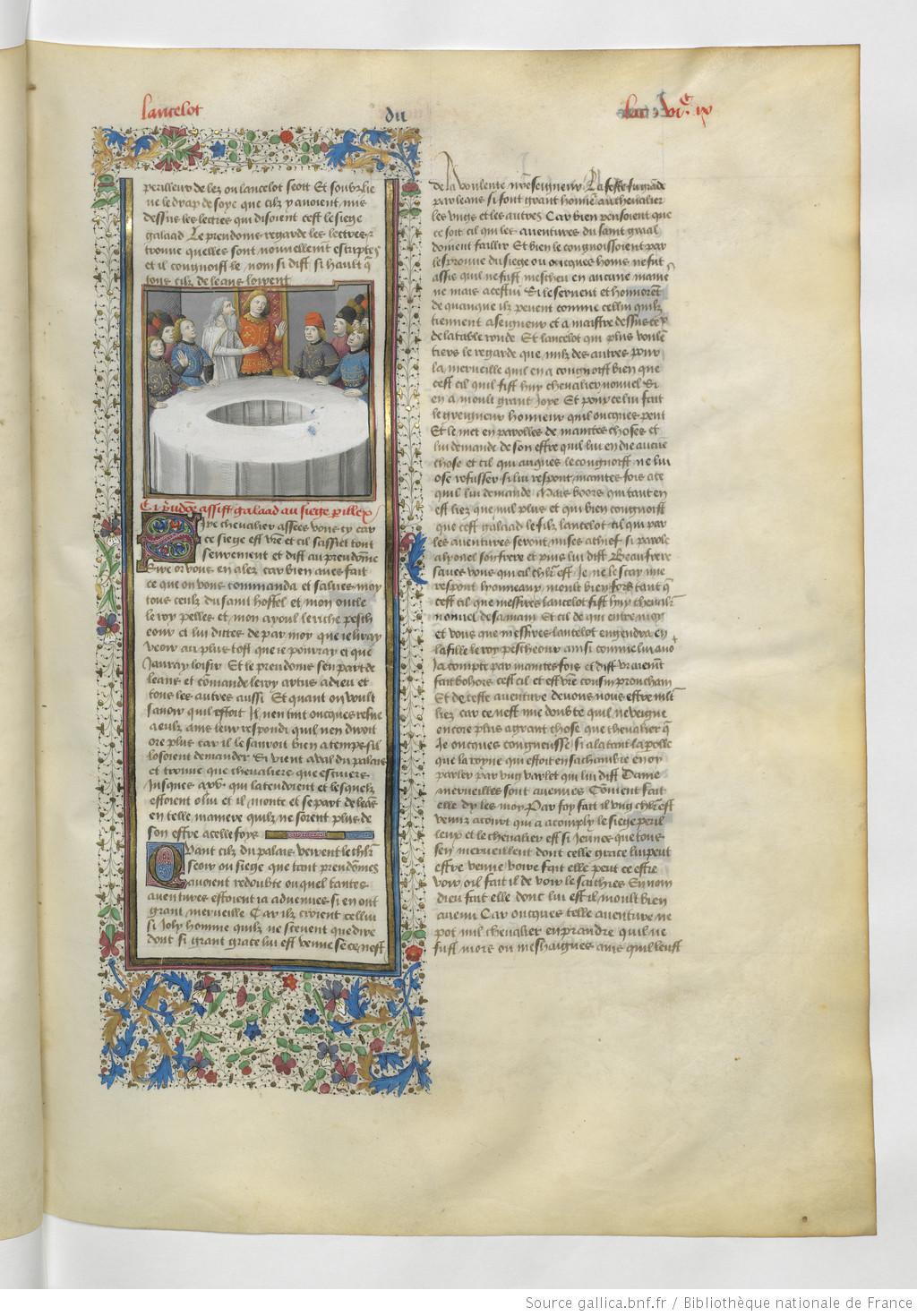 légende dorée manuscrit